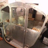 telecabine en aluminium