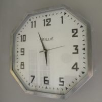french deco wall clock - new quartz movement